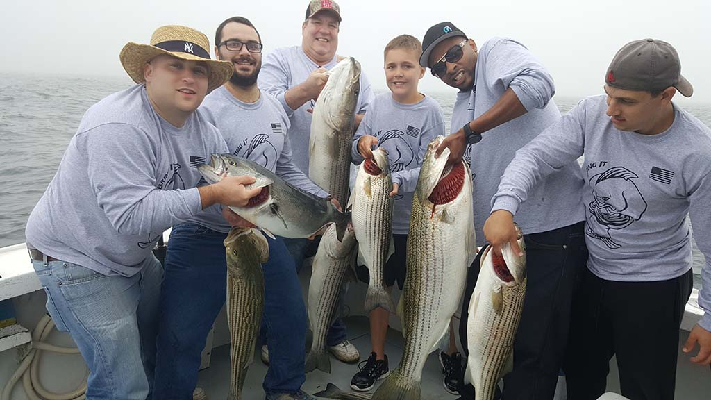stripers block island ri